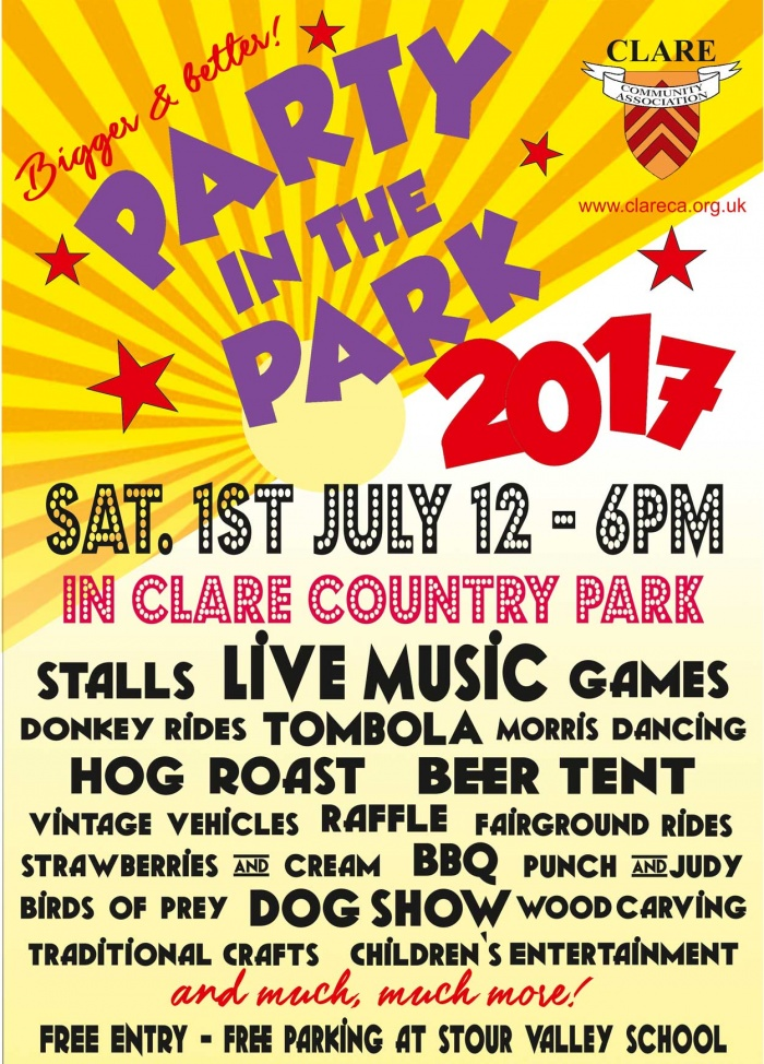 Party in the Park 2017 - Clare Community Association